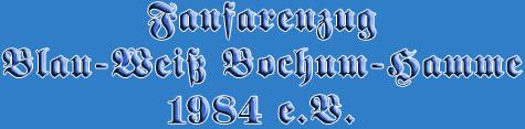 Fanfarenzug Blau-Weiß Bochum Hamme 1984 e.V.